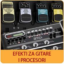 Efekti za gitare i procesori